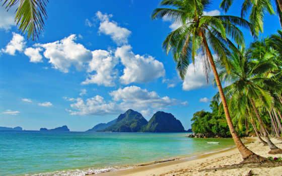 пляж, ocean, фотообои