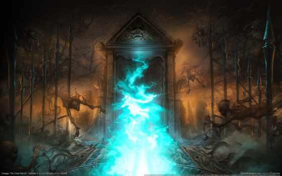 lineage, fantasy, портал