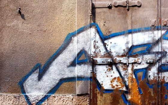 graffiti, стена, graffito, рисунок, надпись