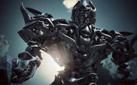 обои, трансформеры, робот, transformers, megatron,