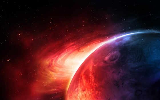 планеты, universe, необъятная, научно, fantastic, космические, марс,