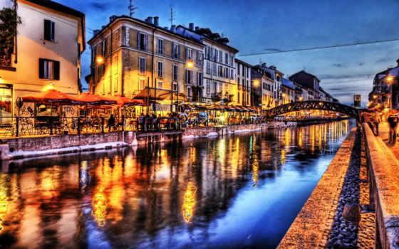 мира, река, город