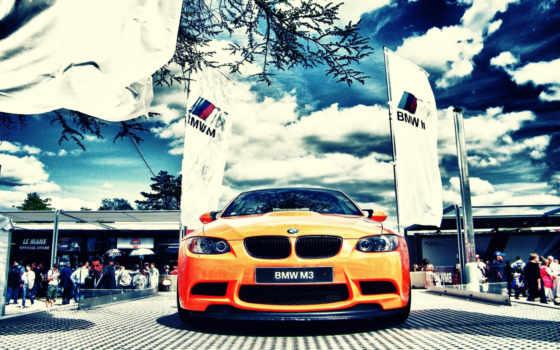 bmw, буф, оранжевый, m3,