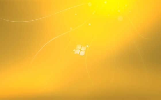 windows лого жёлтый