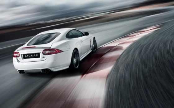 jaguar, xkr, white, cars, black, скорость, art, спец,