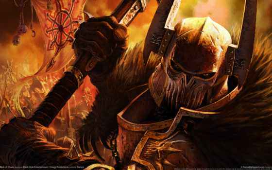 хаоса, warhammer, chaos, орды, fb, игры, воин, марк, fantasy,