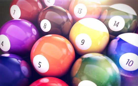 бильярдные шары Фон № 4398 разрешение 1920x1080