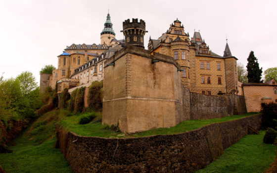замок, фридланд, frydlant