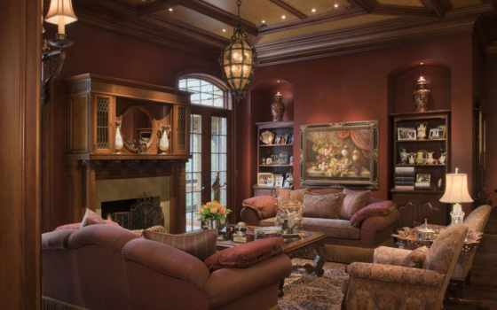 living, комната, традиционный