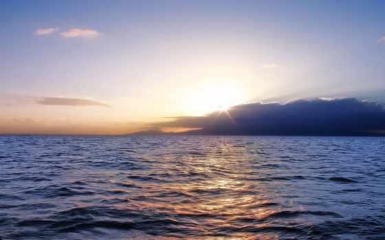 море, ocean, закат