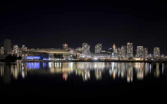 город, ночь, красивый, города, ночные,