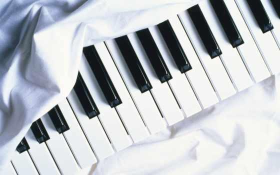музыка, клавиши, ноты, качестве, высоком, широкоформатные, рэп, rock,