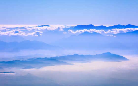 небо, blue, resolutions, desktop, mountains, high, природа,