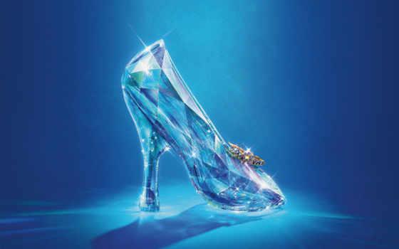 cinderella, cristal, shoe