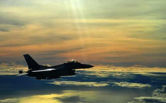 falcon, истребитель, небо, fighting, самолёт, самолеты, авиация, oblaka, истребители,