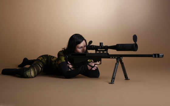 винтовка, камуфляж