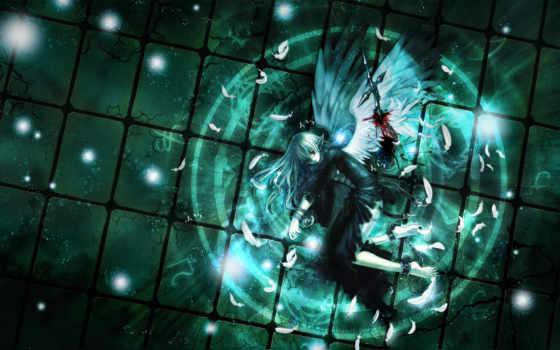 аниме, крылья