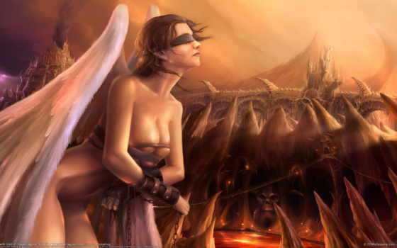 angel, девушка, фэнтези