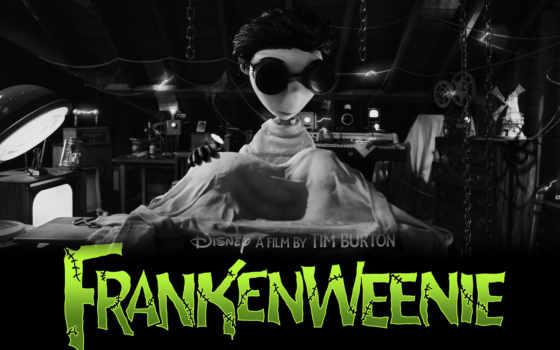 frankenweenie, франкенвини, плакат
