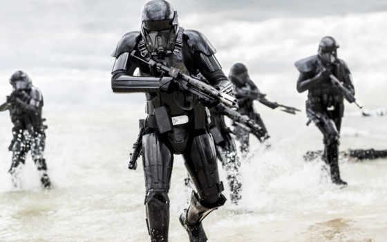 trooper, troopers, смерть, rogue, one, star, wars, imperial,