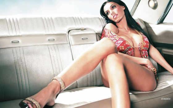 ножки, женские, автомобили