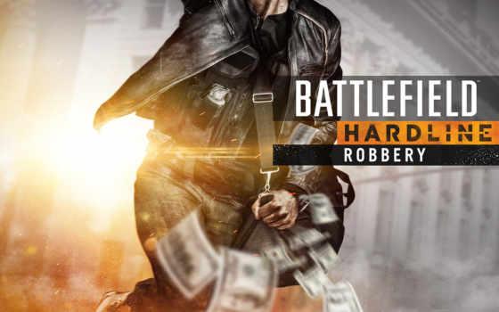 battlefield, hardline, ограбление