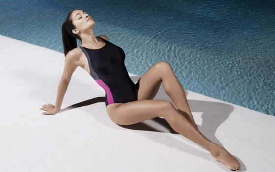 devushki, девушек, сидит, подборка, красивые, девушка, купальник, красивых, купальнике, загорает, бассейн,