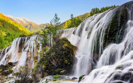 der, falls, cascadas, fototapety, die, images, фотообои, von, china,