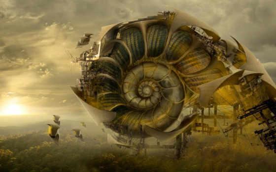 architecture, будущего, nautilus, living, путник, конкурс,