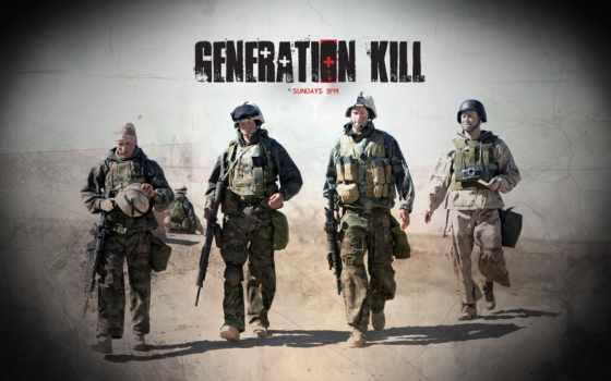 убийц, сериал, поколение, generation, kill, quot,