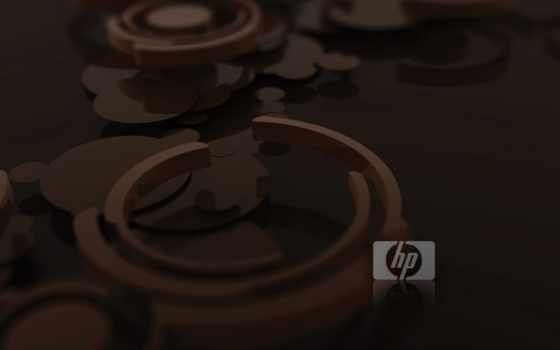 packard, hewlett, logo, wood, brown