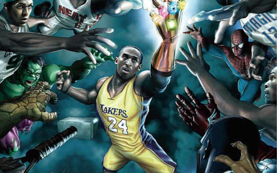супергерои, баскетболист, full
