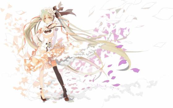 miku, hatsune, vocaloid Фон № 66900 разрешение 1920x1200