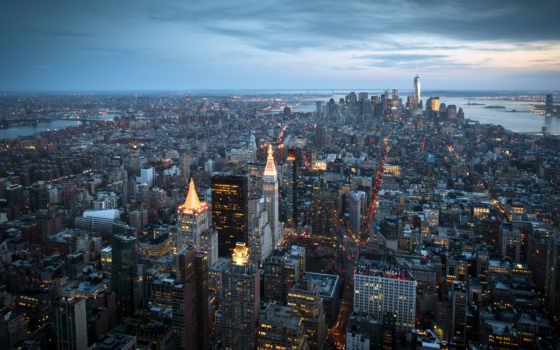 york, new, город, нью, manhattan, города,
