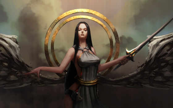 ангел, круги