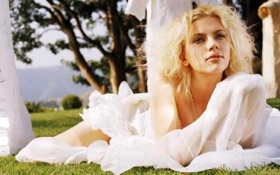 johansson, скарлетт, платье, свадебный,