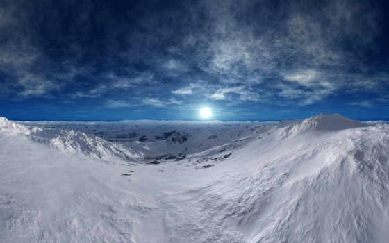 tundra, winter, изображение