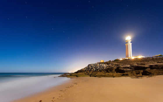 lighthouse, andalusien, песок