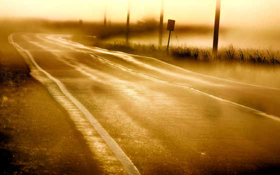 landscape, изображение, paisagem, утро, заметки, adro, parede, roads,