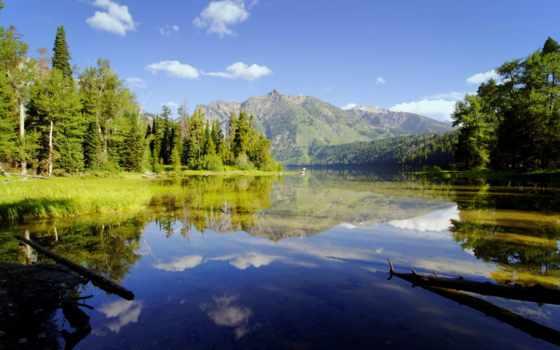 озеро, unpictures, красивое, лесное, небо, назад, изображения, everything, дорога, фотообои, развернуть,