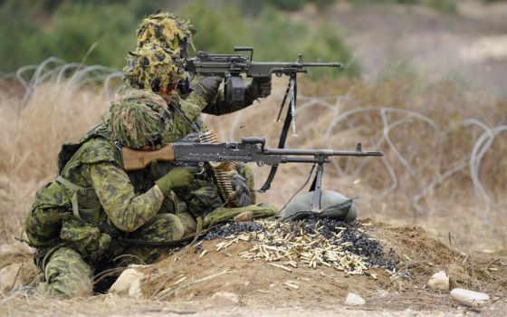 машина, soldiers, армия, guns, канадский, винтовка,