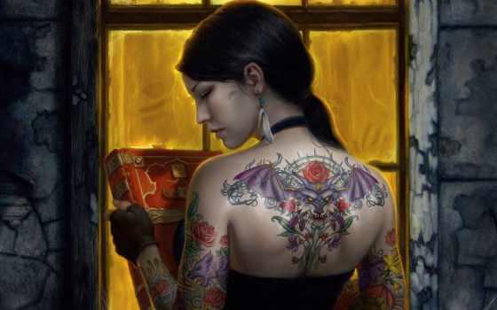 татуировки, татуировка, тату Фон № 99237 разрешение 1920x1200