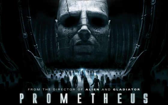 movie, плакат, prometheus