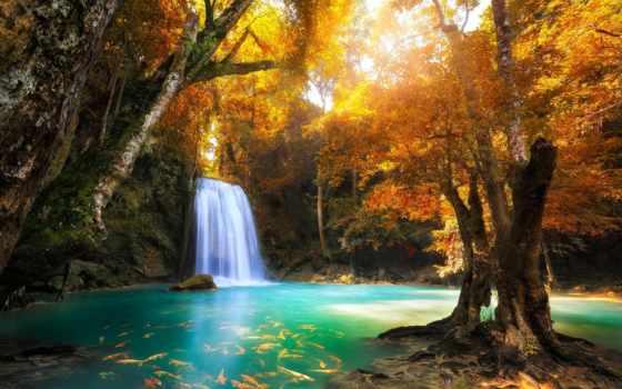 erawan, таиланд, park, national, банить, водопад, об, pinterest, falls, нам,