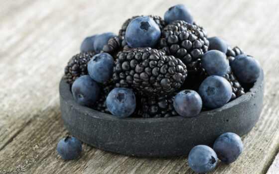 черника, blackberry, ягода, малина,