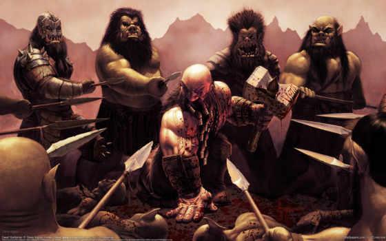 dwarf, barbarian