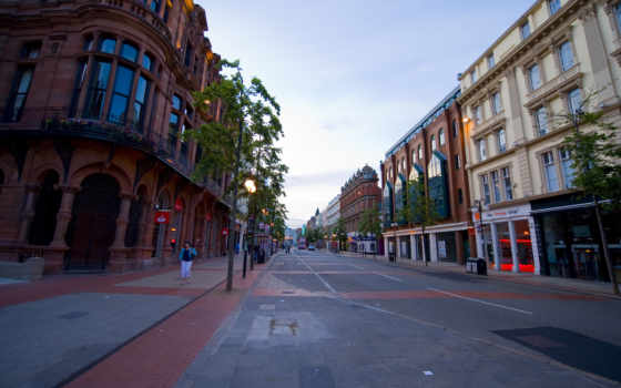 города, северная, ireland, город, ирландии, belfast, улица,