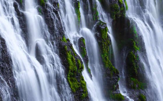 falls, burney, california, park, state, cascades, mcarthur, мемориал, califórnia, parede, mcway,