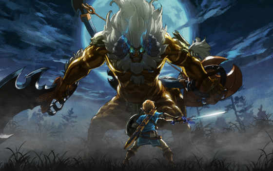 wild, dlc, сказание, breath, master, zelda, trials, nintendo,