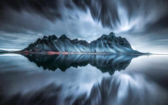 iceland, гора, see, декор, биг, идея, огромный, самир, вулкан